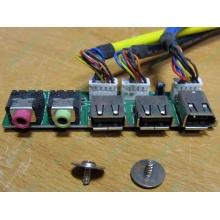 Панель передних разъемов (audio в Бронницах, USB в Бронницах, FireWire) для корпуса Chieftec (Бронницы)