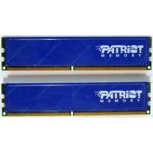 Память 1Gb (2x512Mb) DDR2 Patriot PSD251253381H pc4200 533MHz (Бронницы)